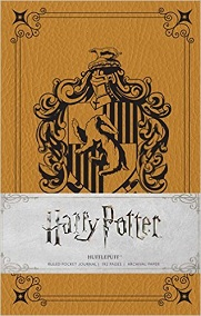 Harry Potter Hufflepuff Ruled Pocket Journal