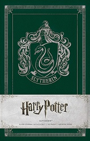 Harry Potter Slytherin Hardcover Ruled Journal