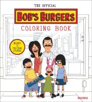 The Official Bob's Burgers Colouring Book