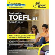 Cracking the TOEFL iBT, 2016 Edition