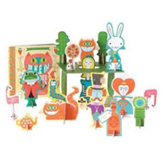 BabyLit Alice in Wonderland Playset with Book