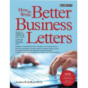 How to Write Better Business Letters, 5th Ed