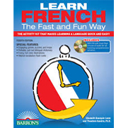 Learn French the Fast and Fun Way, 4th Ed w/MP3