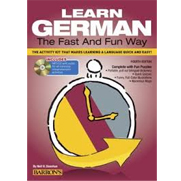 Learn German the Fast and Fun Way, 4th Ed w/MP3
