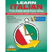 Learn Italian the Fast and Fun Way, 4th Ed w/MP3
