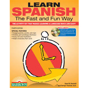 Learn Spanish the Fast and Fun Way, 4th Ed w/MP3