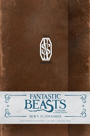 FBWFT: Newt Scamander Hardcover Ruled Journal
