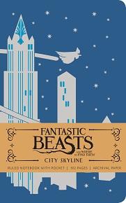 FBWFT: City Skyline Hardcover Ruled Journal