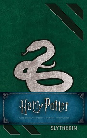 Harry Potter Slytherin Hardcover Ruled Journal (Redesign)