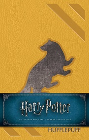Harry Potter Hufflepuff Hardcover Ruled Journal (Redesign)
