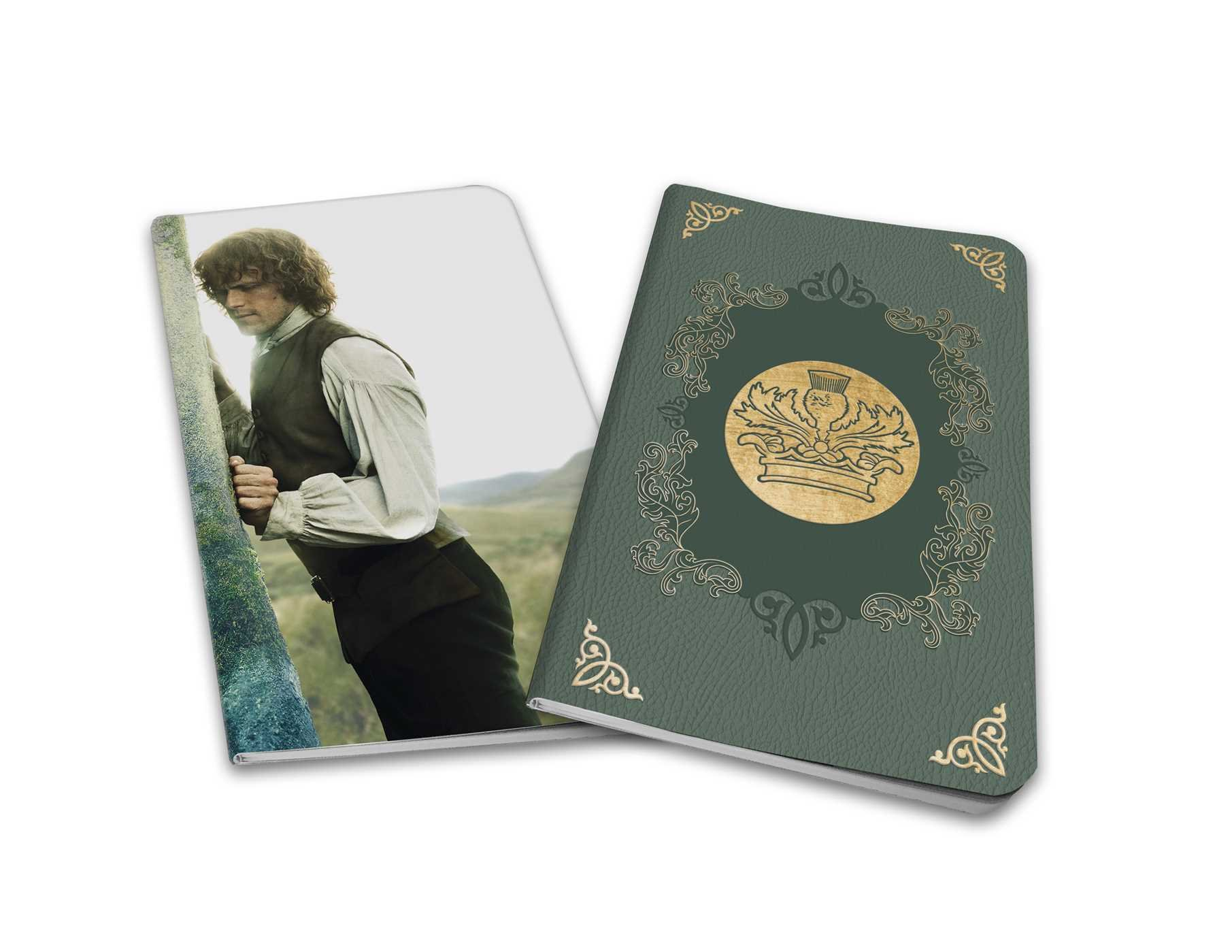 Outlander: Notebook Collection (Set of 2): Jamie and Claire