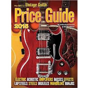 2015 Official Vintage Guitar Magazine Price Guide
