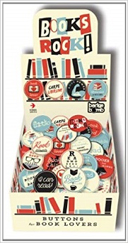 Books Rock! Badge Box (x120)