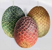 Game of Thrones Dragon Eggs Candle