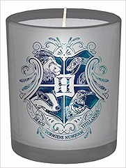 Harry Potter Hogwarts Large Glass Candle