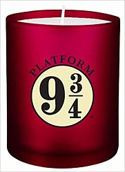 Harry Potter Platform 9 3/4 Glass Candle