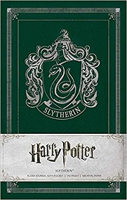 Harry Potter Slytherin Ruled Journal
