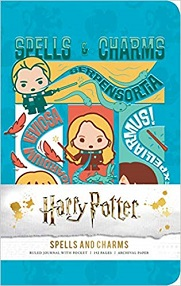 Harry Potter: Spells and Charms Ruled Pocket Journal