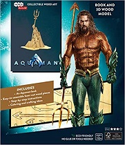 IncrediBuilds: Aquaman Book and 3D Wood Mode