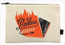 Badass Reader Pencil Pouch