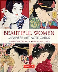 Beautiful Women in Japanese Art Note Cards