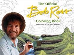 Bob Ross Colouring Four Seasons
