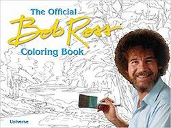 Official Bob Ross Colouring Book