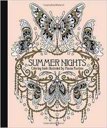 Summer Nights Colouring Book