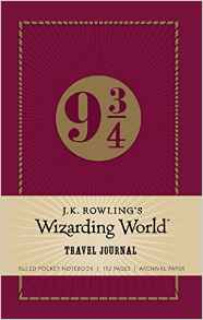 J. K. Rowling's Wizarding World Ruled Pocket Notebook