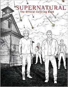 Supernatural: The Official Colouring Book