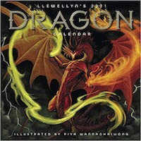 Llewellyn's 2021 Dragon Calendar