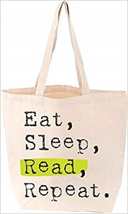 Eat, Sleep, Read, Repeat Tote