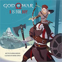 God of War: B is for Boy : An Illustrated Storybook