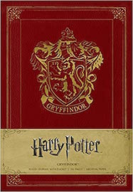 Harry Potter: Gryffindor Ruled Journal