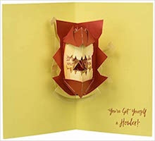HP: Howler Pop-Up Card