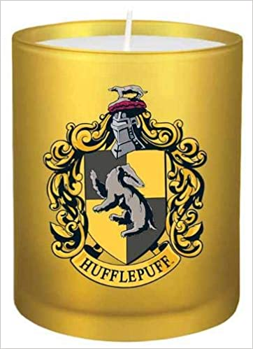 HP: Hufflepuff Glass Votive Candle