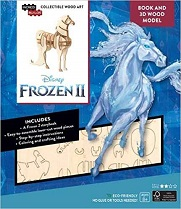 IncrediBuilds: Disney Frozen 2: Water Nokk Book and 3D Wood Model: Adventures of Arendelle