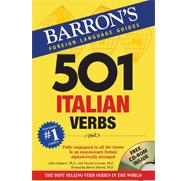 501 Italian Verbs, 4th Ed w/CDROM
