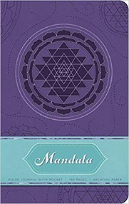 Mandala Hardcover Ruled Journal