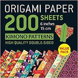 Origami Paper 200 Sheets Kimono