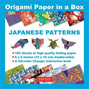 Origami Paper in a Box - Japanese Patterns - 6