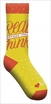 Read Before You Think socks (GS)