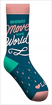 Readers Move the World socks (GS)