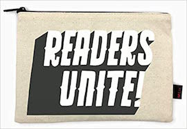 Readers Unite Pencil Pouch