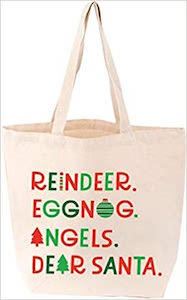 Christmas List Tote
