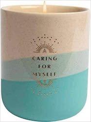 Self-Care Ceramic Cndl (11 oz Citrus & Lavndr oils)