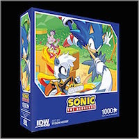 Sonic The Hedgehog: Too Slow! Premium Puzzle (1000-pc)